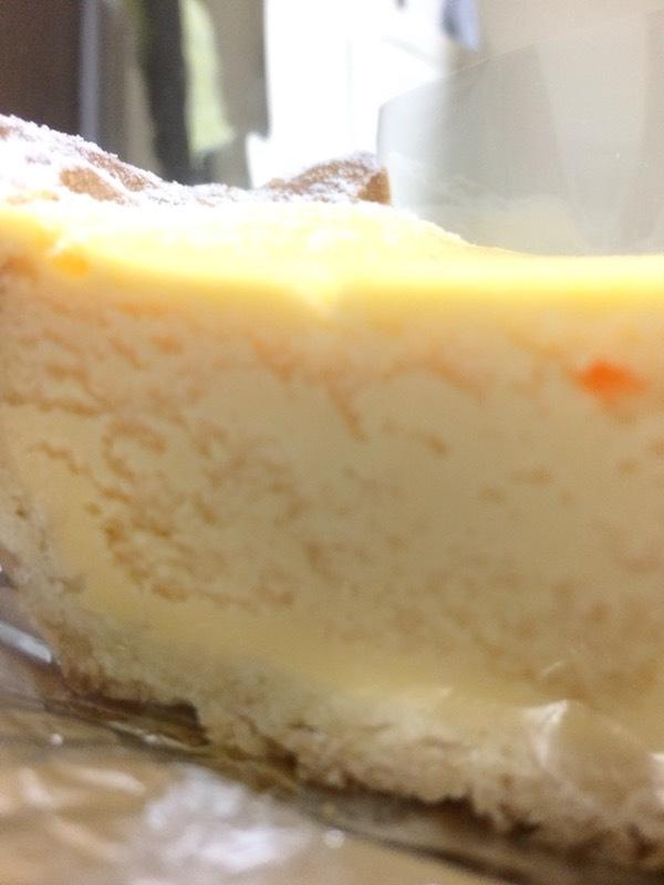 パティスリーコポーの焼きチーズケーキが美味しい