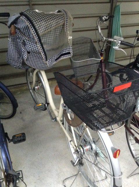 子供乗せ自転車(非電動)は鍵かけ忘れても盗まれず警察の職質受けない