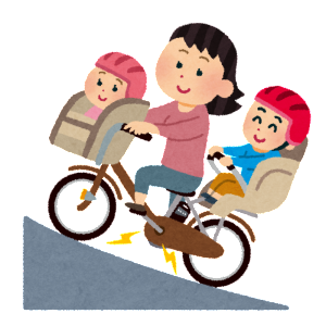 子乗せ自転車のチャイルドシートカバー(レインカバー)の盗難