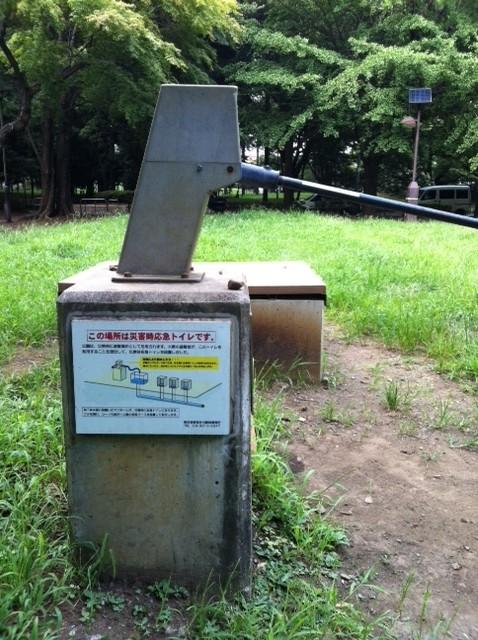 杉並区善福寺川緑地の井戸