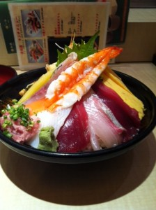 美登利寿司のサカスちらし(bizちらし)