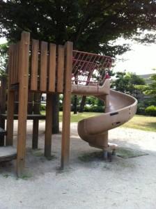 成田かっぱ公園滑り台
