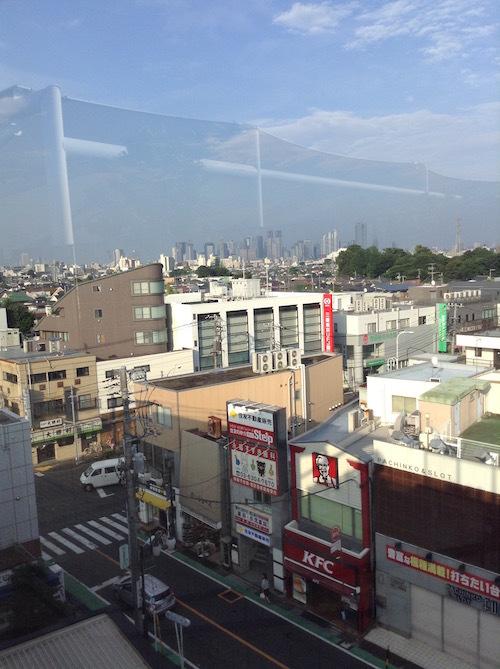 ふくにわから見える新宿