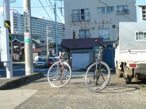 尻こすり坂、自転車
