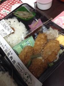 川名肉店カキフライ弁当