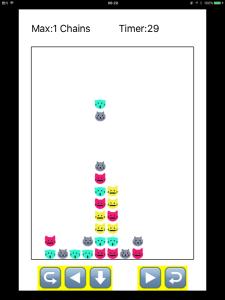 【SWIFT】落ちものパズルゲーム
