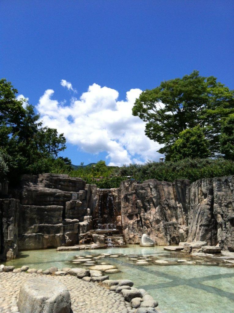フルーツ公園の崖