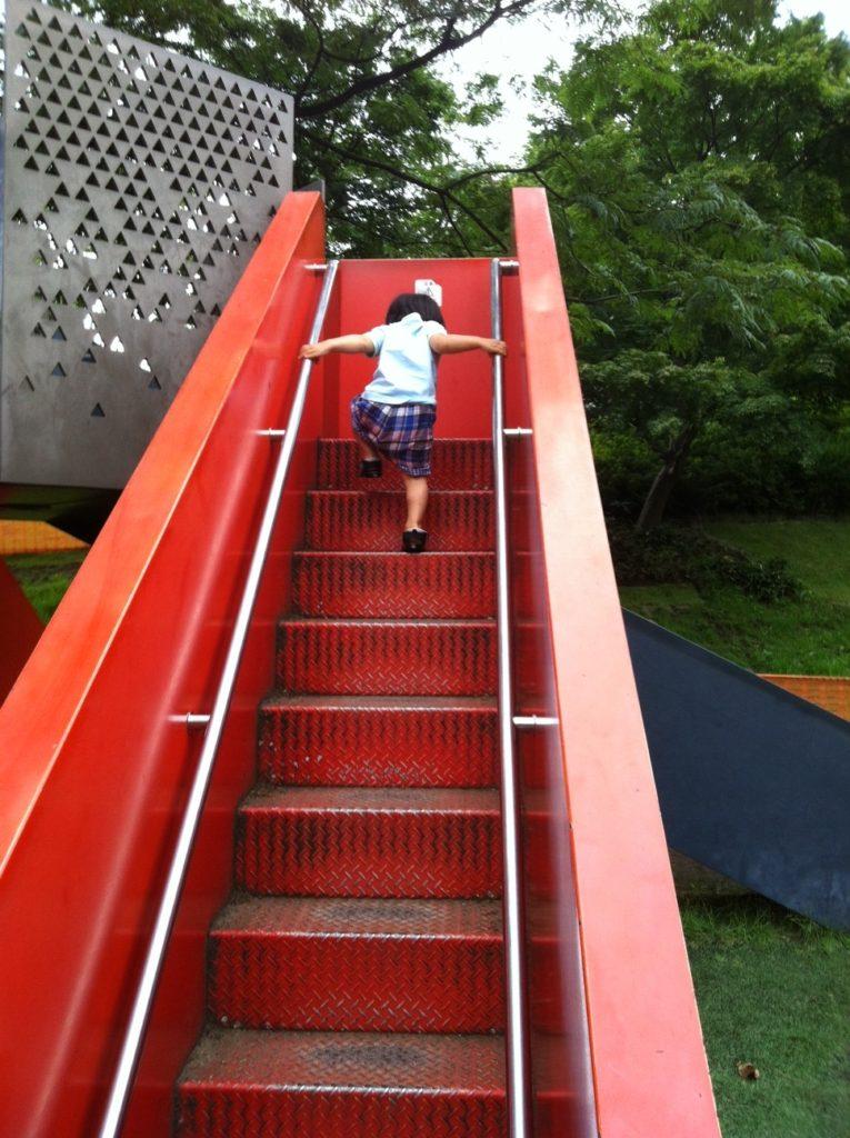 檜町公園の滑り台