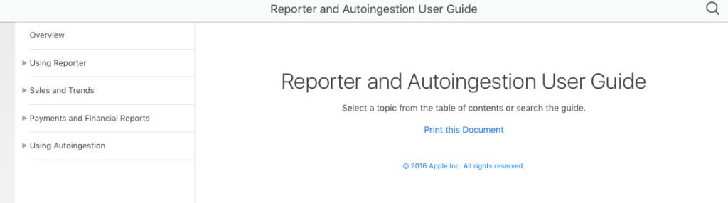 Reporterのダウンロードとターミナルでのコマンドの入力方法