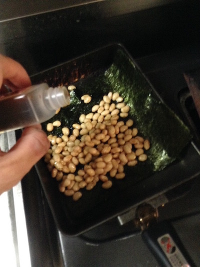 大豆でうなぎもどき