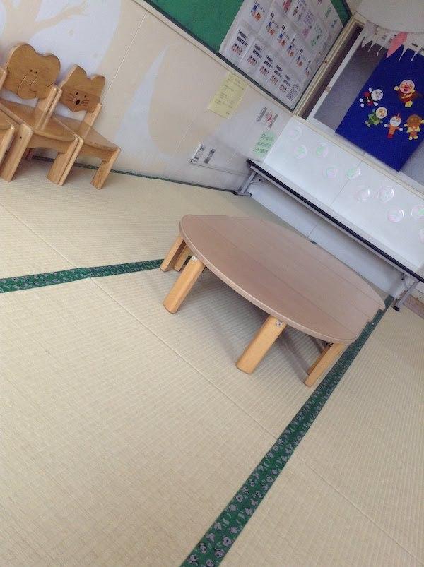 井草児童館の乳幼児室は幼児用のトイレと水道があって便利だ