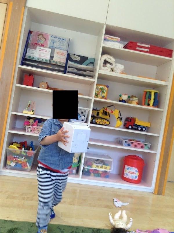 宮前児童館の乳幼児室は綺麗、トイレ有り、電子レンジあり