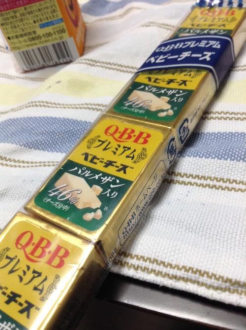 Q・B・B プレミアムベビーチーズ パルメザン入り