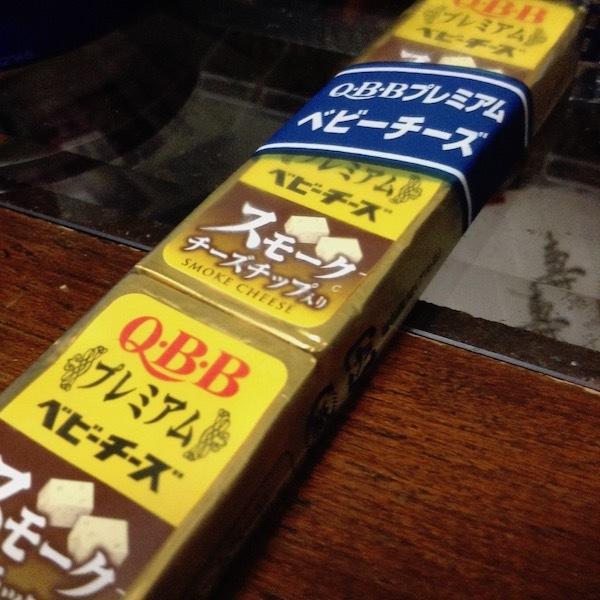 Q・B・B プレミアムベビーチーズ スモークチーズチップ入り