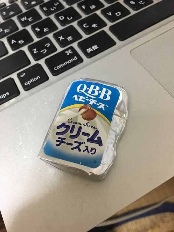 QBB ベビーチーズクリームチーズ入り