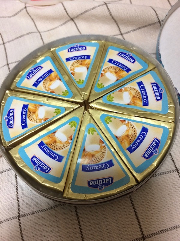 ラクティマ クリーミーチーズ プレーン 8P(Lactima Creamy)