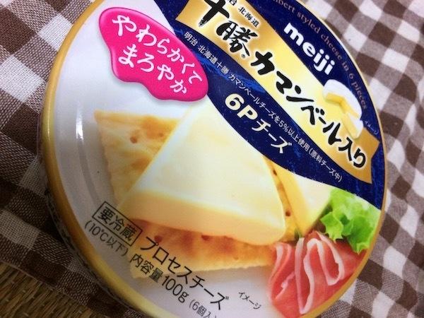 明治北海道 十勝カマンベール入り 6Pチーズ