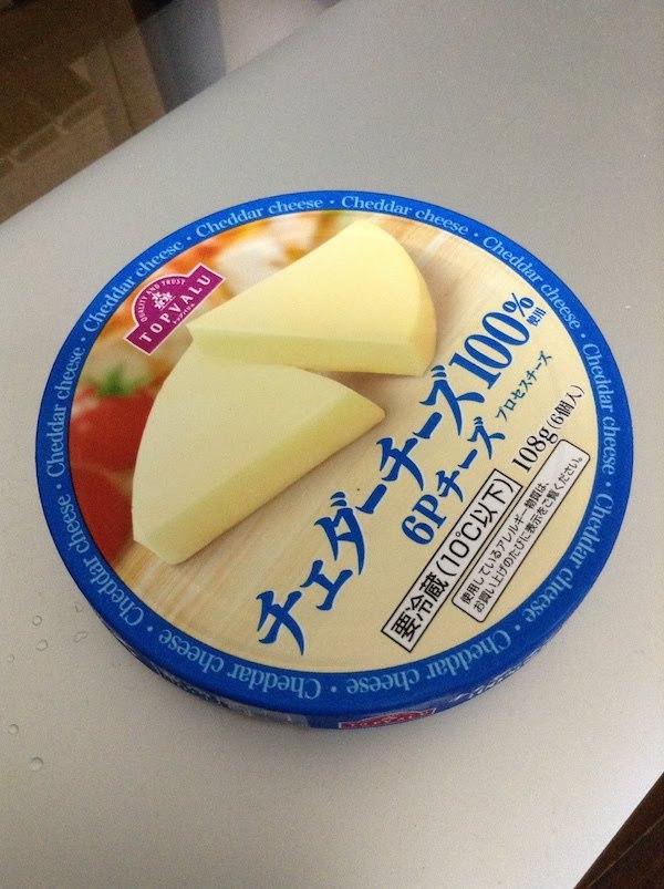トップバリュ(TOPVALU) チェダーチーズ100% 6Pチーズ