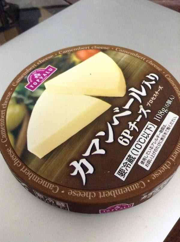 トップバリュ(TOPVALU) カマンベール入り 6Pチーズ