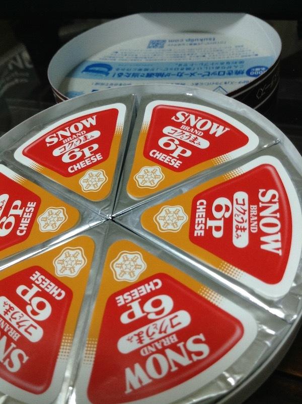 雪印メグミルク6Pチーズ コクとうまみ