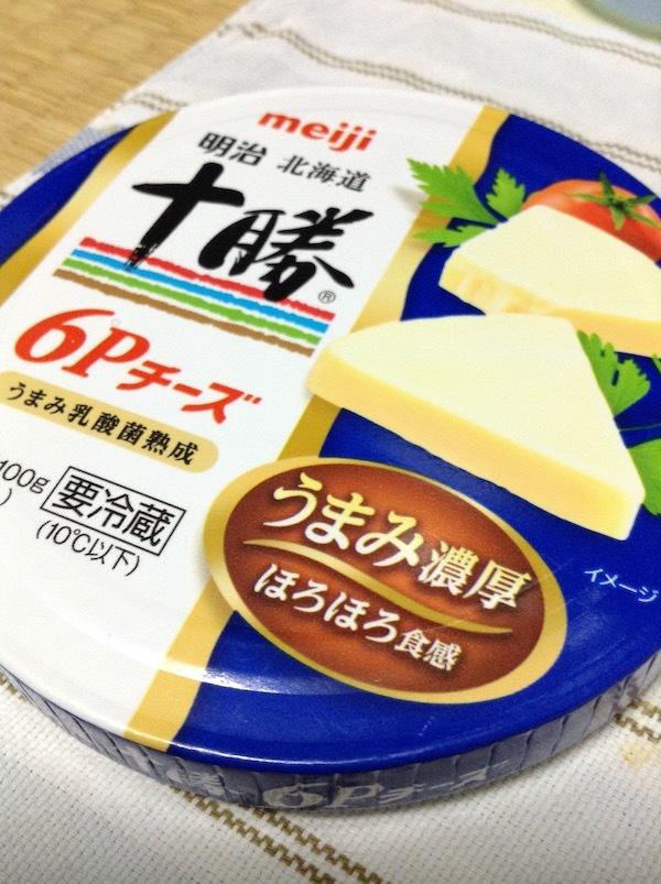 明治北海道十勝6Pチーズ