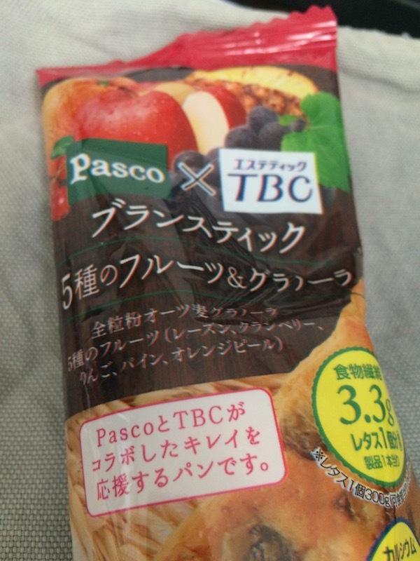 Pasco×TBC ブランスティック 5種のフルーツ&グラノーラ