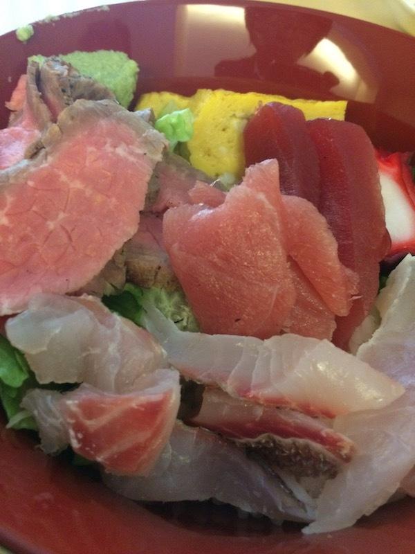 六本木和食ランチは四季の店篠宮の海鮮丼ローストビーフ丼がおすすめ
