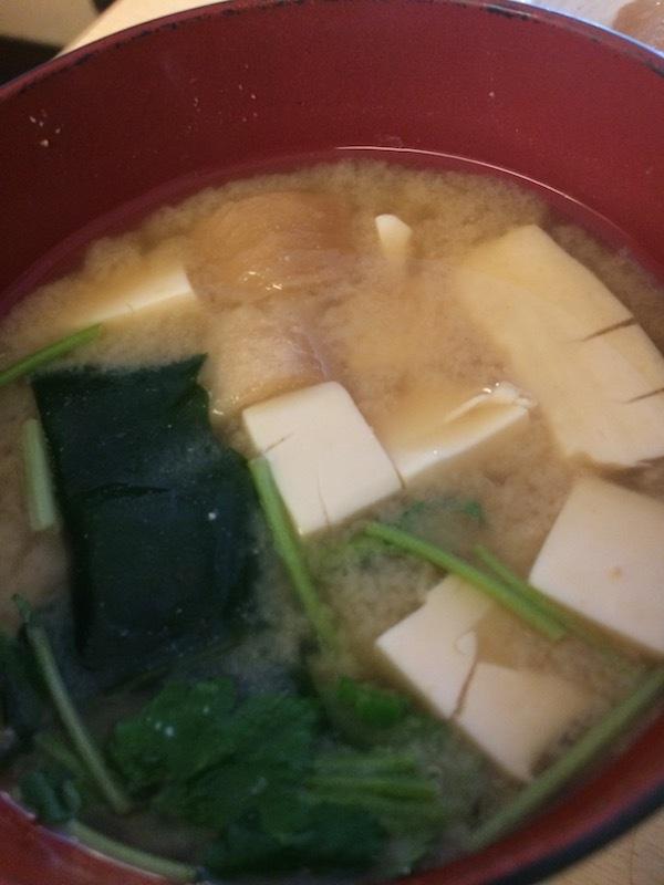 篠宮の味噌汁