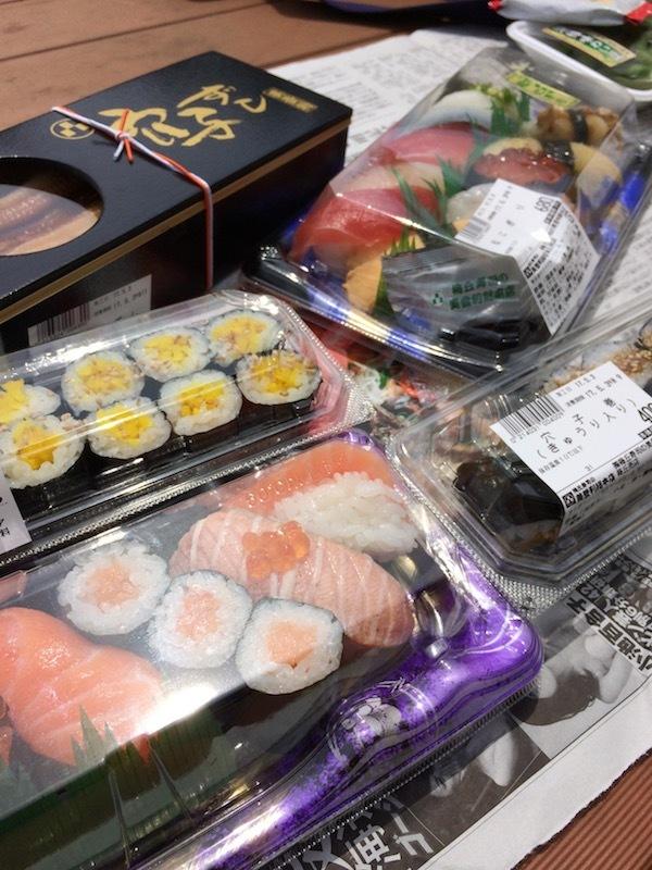 寿司の美登利のお持ち帰り