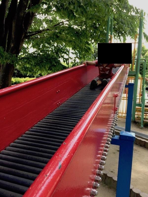 ローラー滑り台(ロング滑り台)