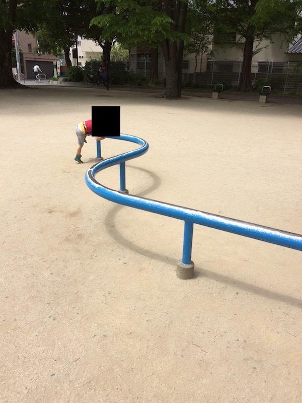 アスレチック風ローラー滑り台