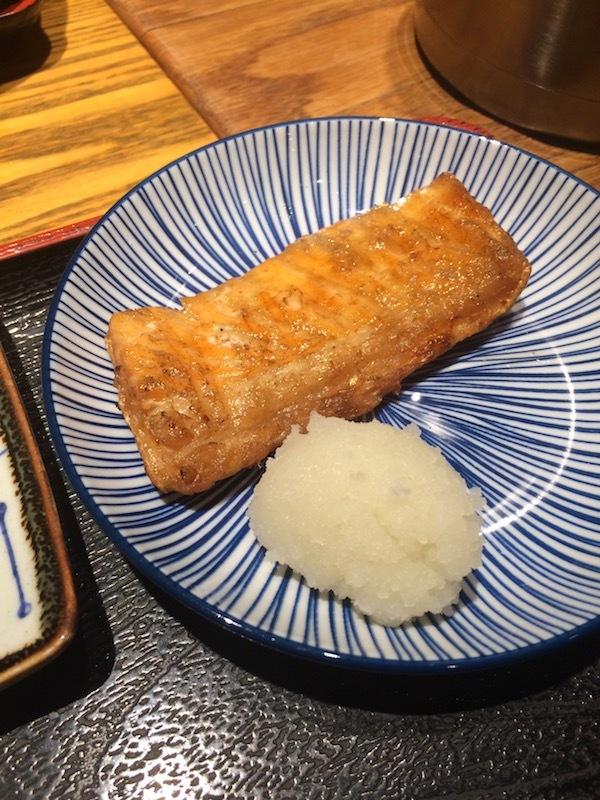 笑壷の焼き魚