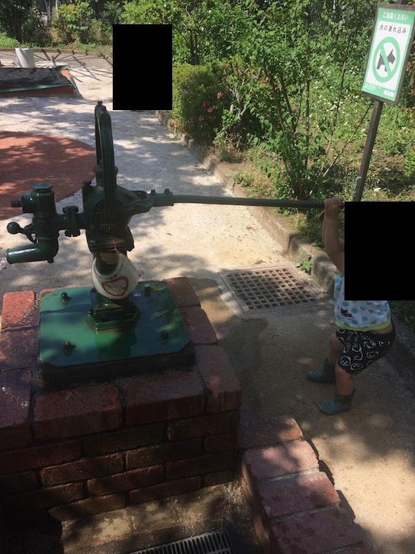ことり公園の井戸