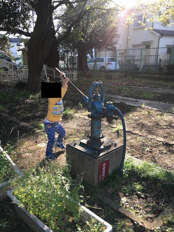 杉並区立杉並第二小学校の井戸