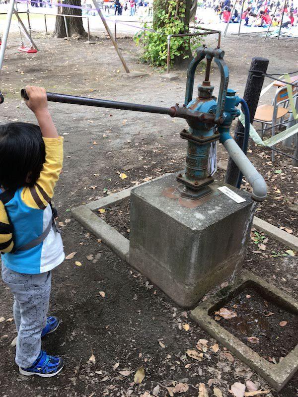 杉並区立杉並第三小学校の井戸