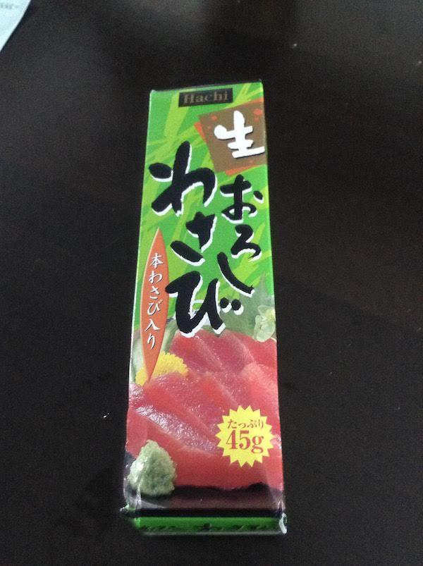 ハチ食品 生おろしわさび 68円