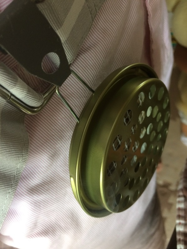携帯式蚊取り線香はおしゃれである