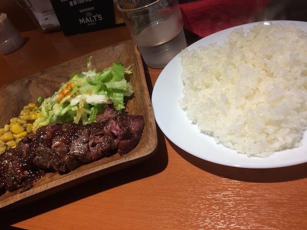 肉BISTRO TONO(肉ビストロ トノ)の黒毛和牛ステーキランチについて