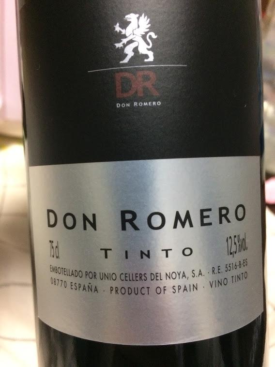 ドン・ロメロ ティント 赤 DON ROMERO TINTO
