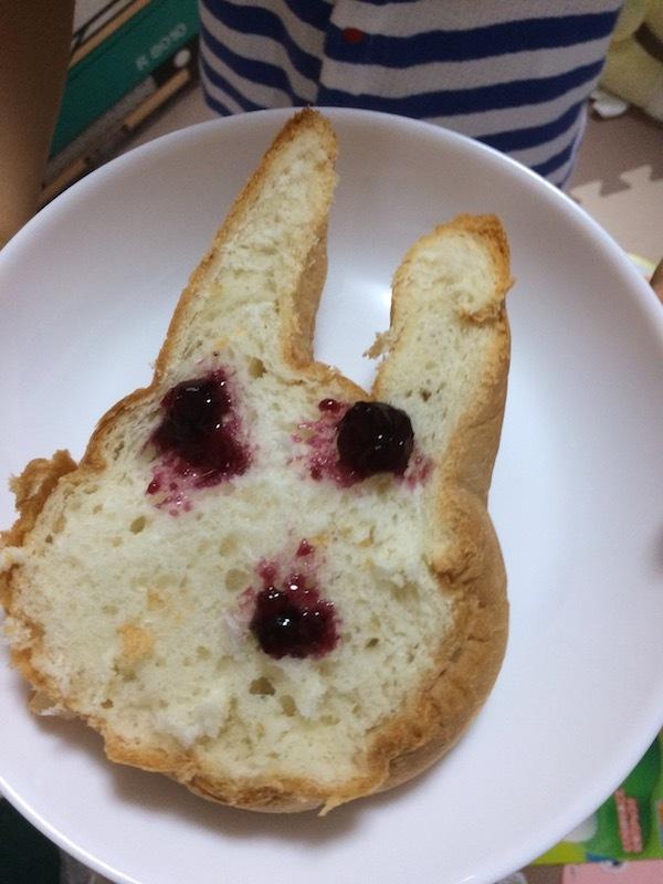 ウサギ食パンの美味しい食べ方