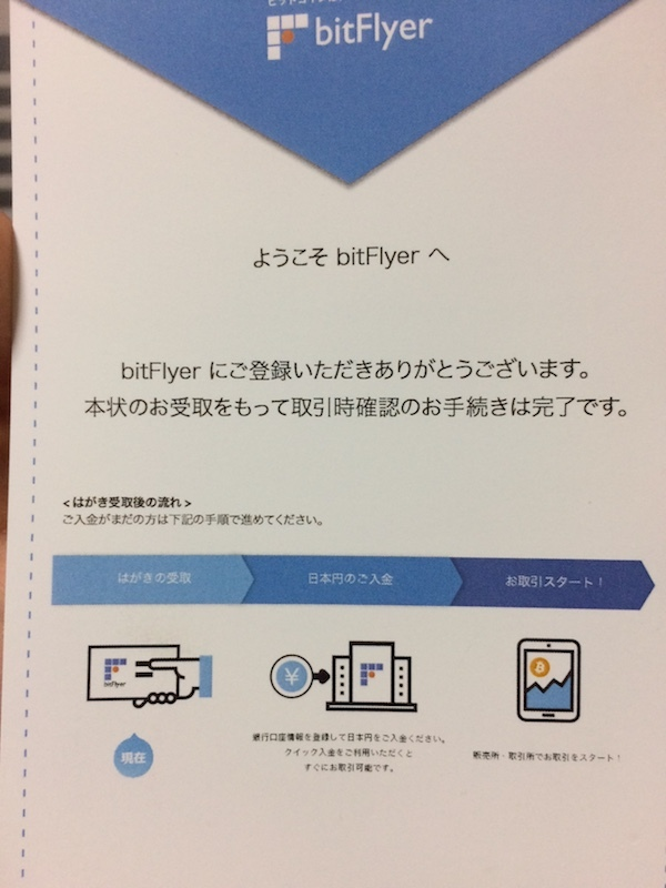 bitFlyer(ビットフライヤー)の口座開設手順とビットコインの買い方