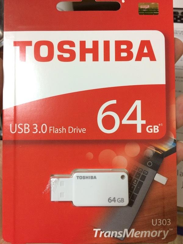 SDカード・フラッシュメモリーで高評価の風見鶏(楽天)でUSB3.0買った