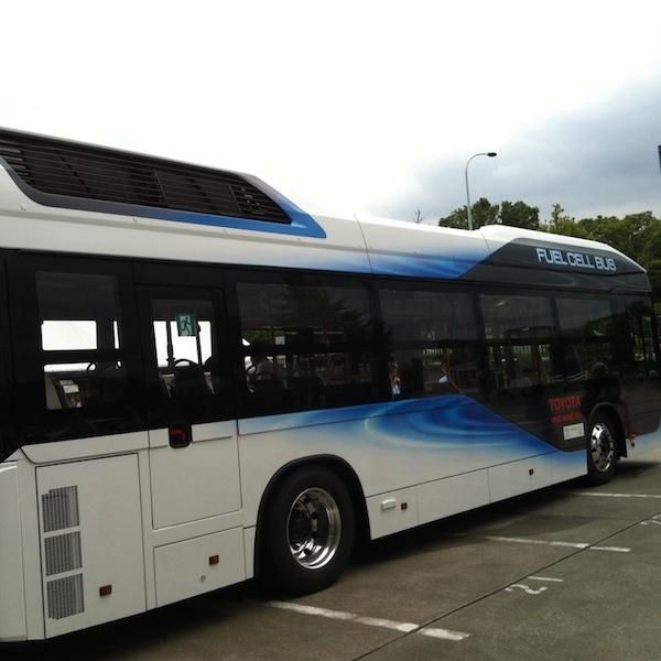 未来のバス試乗会