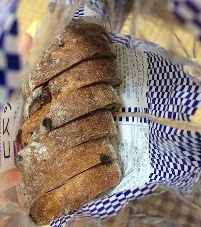 窯焼きパスコ 国産小麦のカンパーニュ くるみレーズン7枚スライス