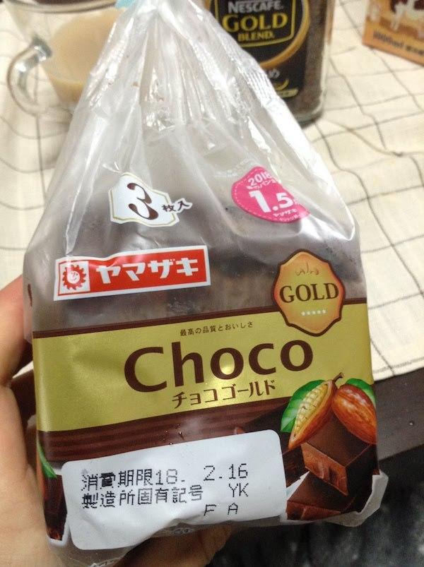 ヤマザキ チョコゴールド 3枚入り