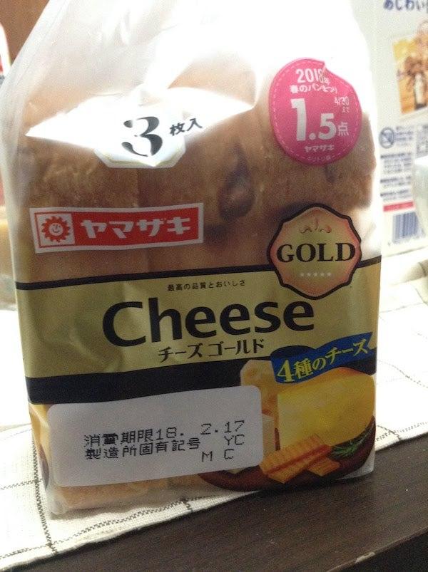 ヤマザキ チーズゴールド 3枚入り