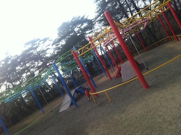 八幡山公園(栃木県宇都宮市)は幼児の子連れ家族におすすめの遊び場