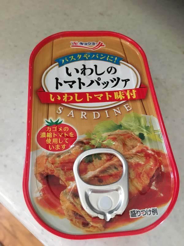 キョクヨー いわしのトマトパッツァ いわしトマト味付 SARDINE