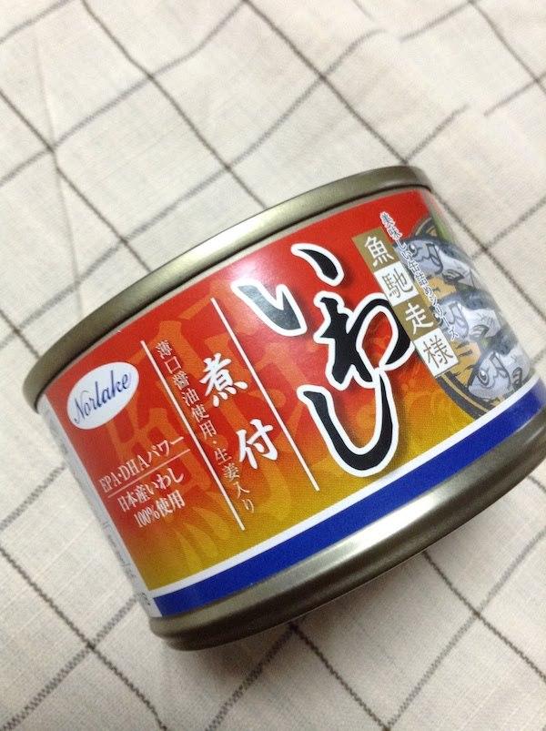 ノルレェイク 美味しい缶詰シリーズ 魚馳走様 いわし煮付
