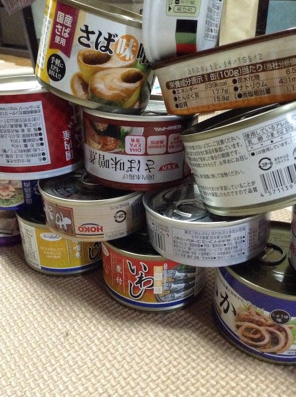 魚缶詰はお金の節約になる